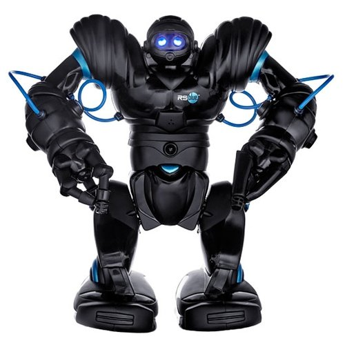 Купить Интерактивная игрушка робот WowWee Robosapien Blue черный, Роботы и трансформеры
