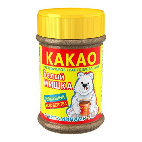 Белый мишка Какао-напиток растворимый с витаминами, 375 г