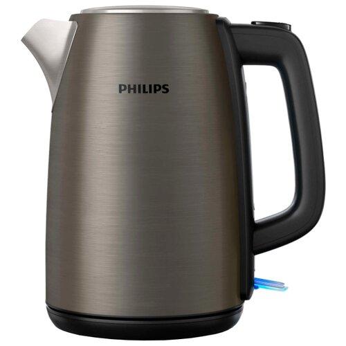Чайник Philips HD9352 Daily Collection, титан чайник электрический philips hd9352 80