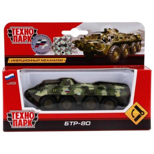 Купить Бронетранспортер ТЕХНОПАРК SB-16-19-BTR-M-WB 12 см бежевый/зеленый, Машинки и техника