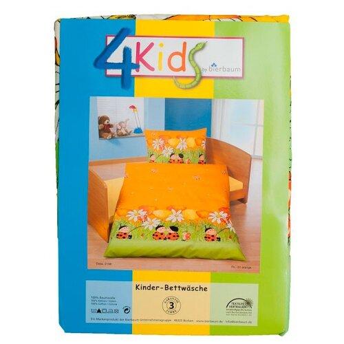 4Kids комплект постельного белья 644765 (2 предмета) оранжевыйПостельное белье и комплекты<br>