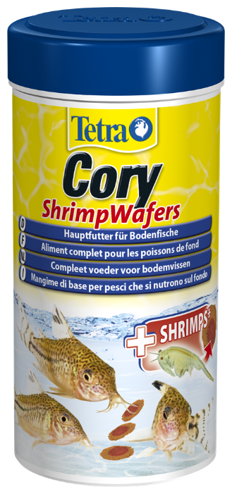 Сухой корм Tetra Cory ShrimpWafers для рыб