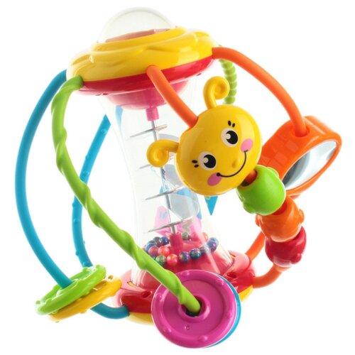 Погремушка Huile Plastic Toys Шар разноцветный, Погремушки и прорезыватели  - купить со скидкой