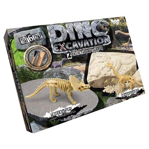 Купить Набор для раскопок Danko Toys Dino Excavation Динозавры № 1, Наборы для исследований
