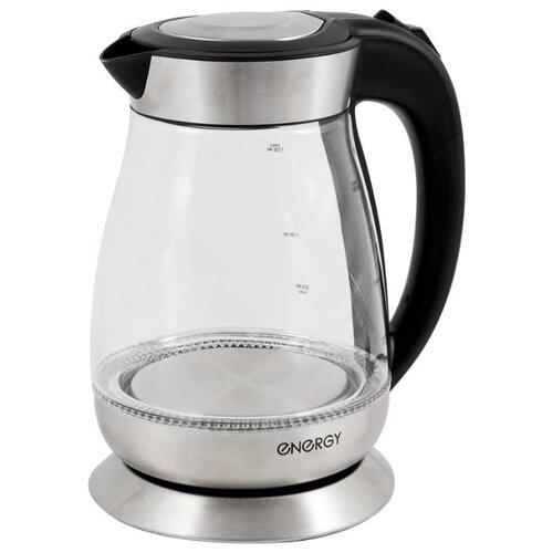 Фото - Чайник Energy E-282, серебристый чайник energy e 280 стальной