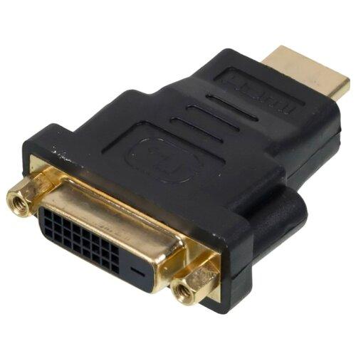 Фото - Переходник NingBo HDMI - DVI-D (CAB NIN HDMI(M)/DVI-D(F)) 0.1 м аудиокабель соединительный jet a mini jack mini jack ja ac01 1 м синий pvc 3 pin 3 5 мм