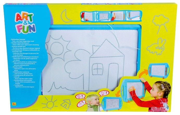Доска для рисования детская Simba двусторонняя (6337136)