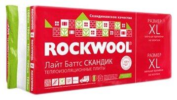 Каменная вата Rockwool 800x600х100мм 6 шт