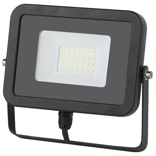 Прожектор светодиодный 30 Вт ЭРА LPR-30-6500К-М SMD Eco Slim прожектор эра lpr 20 6500к м smd eco slim черный