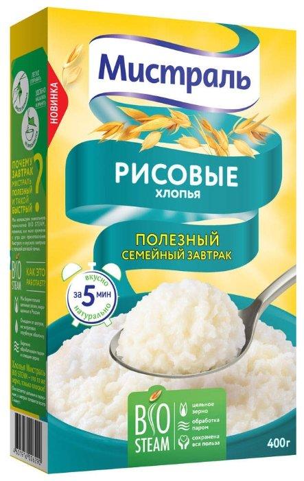 Мистраль Хлопья рисовые нежные, 400 г