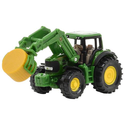 Трактор Siku с кипоукладчиком (1379) зеленый цена 2017