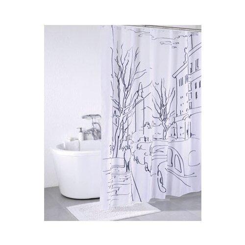 Фото - Штора для ванной IDDIS SCID170P 180x200 белый/черный штора для ванной iddis 680p18ri11 180x200 зеленый черный