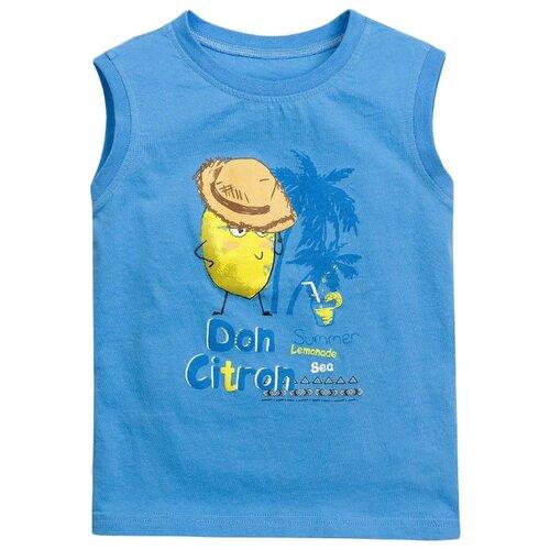 Майка Pelican размер 1, голубойФутболки и рубашки<br>