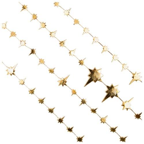 Гирлянда Феникс Present Звезды 270 х 3 см, золотой гирлянда lira 270 см