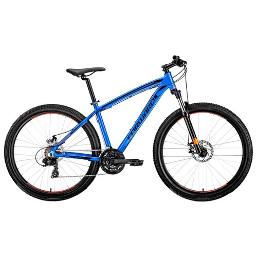 Горный (MTB) велосипед FORWARD Next 27.5 2.0 Disc (2019) синий 17 (требует финальной сборки)