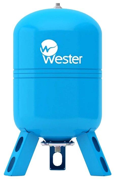 Гидроаккумулятор Wester WAV 80 80 л вертикальная установка