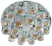 Встраиваемый светильник De Fran FT 9310 BR, зеркальный / прозрачный / коричневый
