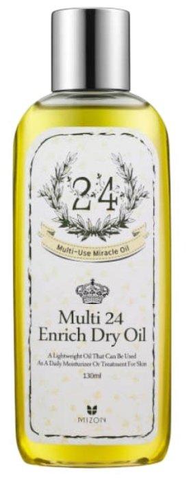 Mizon Multi 24 enrich dry oil Многофункциональное масло для лица и тела