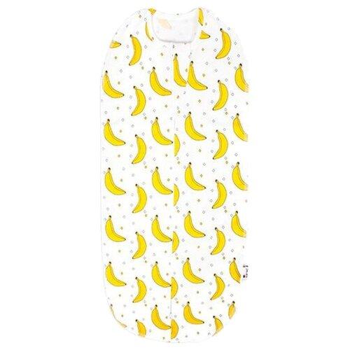 Многоразовые пеленки GlorYes! кокон 0-3,5 мес. бананы 1 шт.Пеленки, клеенки<br>