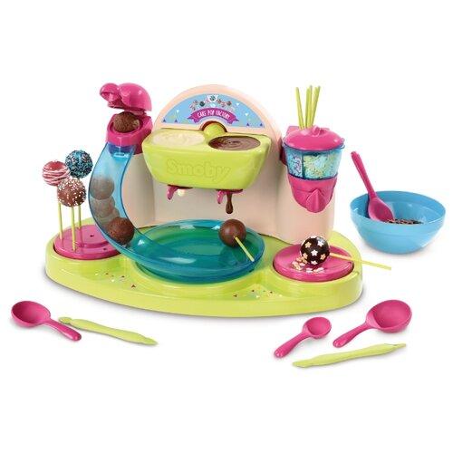 Купить Кондитерская фабрика Smoby для приготовления конфет 312103 бежевый/зеленый/розовый/голубой, Детские кухни и бытовая техника