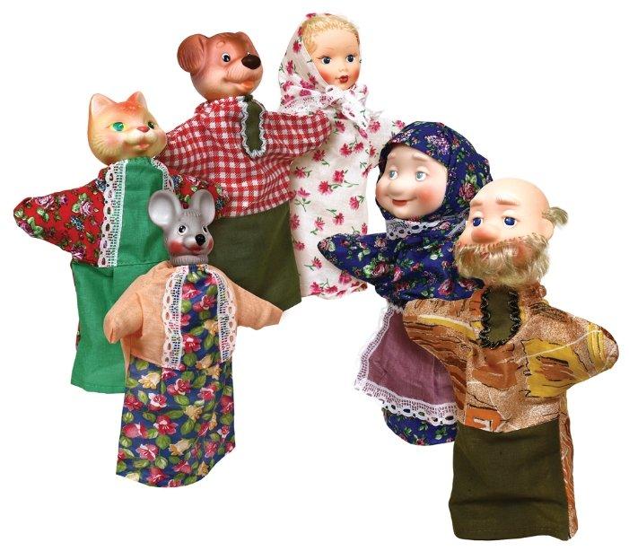 Купить ОГОНЁК Кукольный театр Репка (С-495) по низкой цене с доставкой из Яндекс.Маркета (бывший Беру)