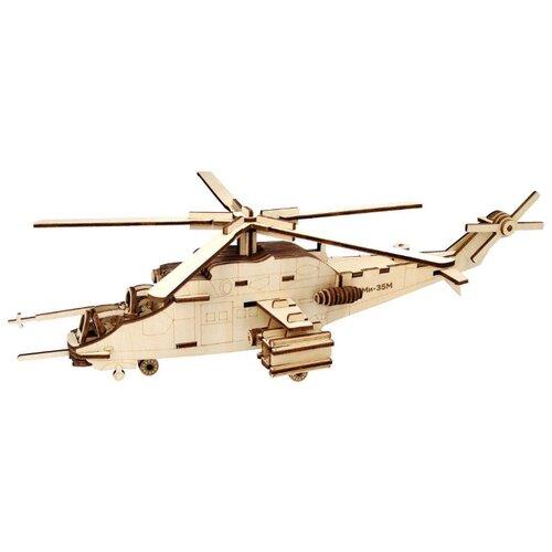Фото - Сборная модель Чудо-Дерево Вертолет Ми-35М (80080) шпалера сетка зеленая 1 4х0 35м металл крашеный