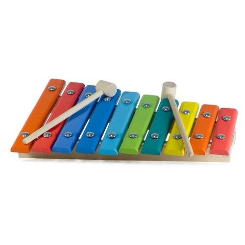 Купить Alatoys ксилофон КС1001 разноцветный, Детские музыкальные инструменты
