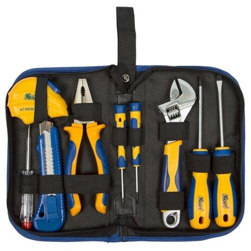 Набор инструментов KRAFT (9 предм.) KT 703000 набор инструментов kraft professional с сумкой 23 предметов