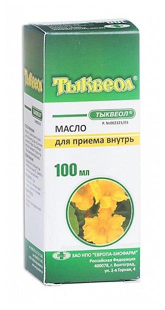 Тыквеол масло д/приема внутрь фл. 100 мл