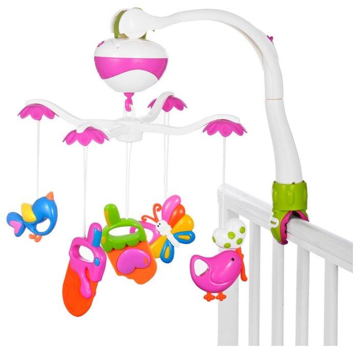 Круг для новорождённых Baby Swimmer фиолетовый (погремушка внутри), для купания новорожденных