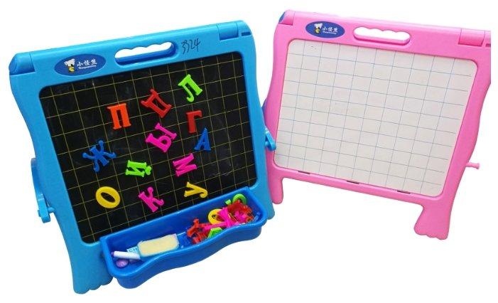Доска для рисования детская Shantou Gepai двусторонняя, с азбукой (59267)