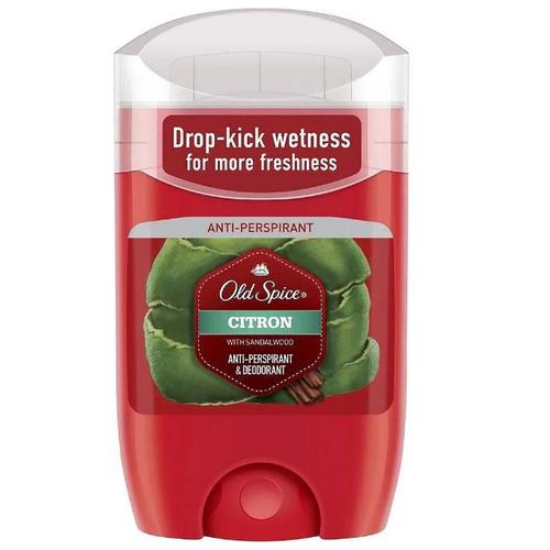 Дезодорант-антиперспирант стик Old Spice Citron, 50 мл антиперспирант аэрозольный odor blocker old spice 150 мл
