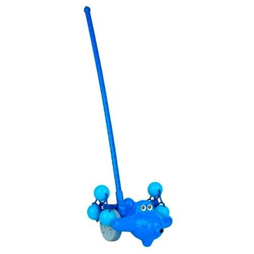 Каталка-игрушка Росигрушка Самолетик Молния (9273) со звуковыми эффектами каталка наша игрушка самолетик y360963