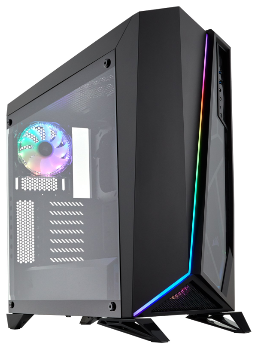 Компьютерный корпус Corsair Carbide Series SPEC-OMEGA RGB Black