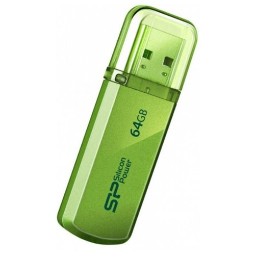 Фото - Флешка Silicon Power Helios 101 64Gb Яблочно-зеленый silicon power helios 101 16gb зеленый