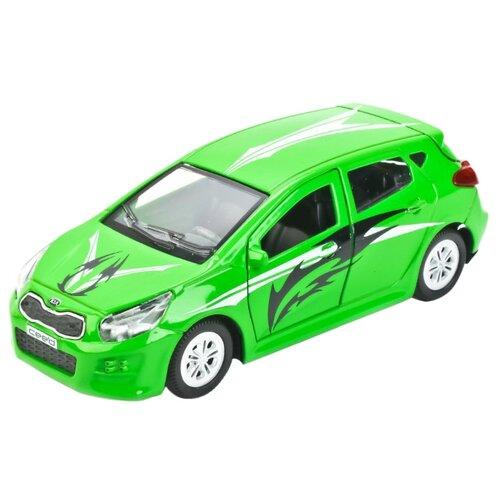 Купить Легковой автомобиль ТЕХНОПАРК Kia Ceed Спорт (CEED-SPORT) 12 см зеленый, Машинки и техника