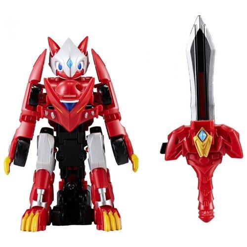 Купить Трансформер YOUNG TOYS Monkart Битроид Драка 330001 красный, Роботы и трансформеры