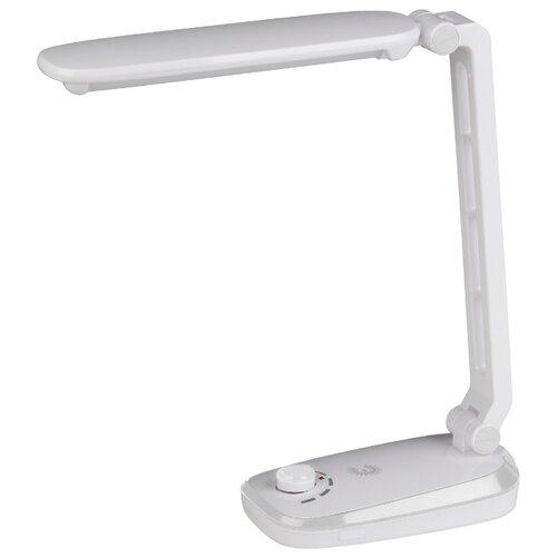 Фото - Настольная лампа светодиодная ЭРА NLED-425-4W-W, 4 Вт лампа светодиодная прямосторонняя трубчатая voltega 7077 e27 4w 2800к