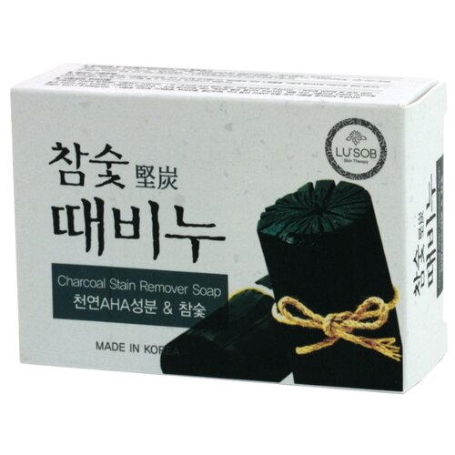 Мыло-скраб DongBang древесный уголь, 100 г