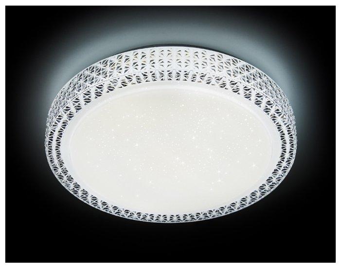 Светодиодный светильник Ambrella light F85 WH 48W D400 ORBITAL 40 см