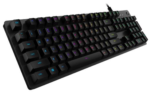 Клавиатура Logitech G G512 CARBON Tactile RGB Black USB