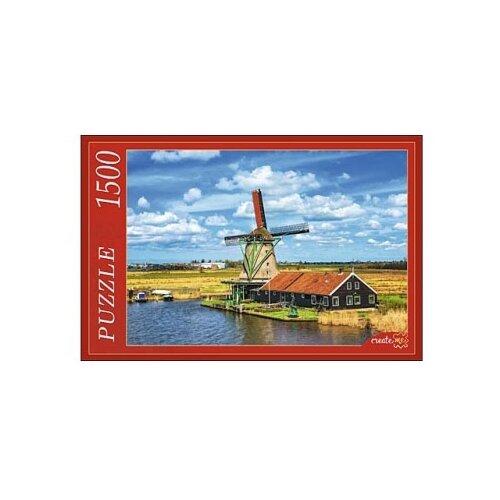 Купить Пазл Рыжий кот Нидерланды Мельница (ГИ1500-8463), 1500 дет., Пазлы
