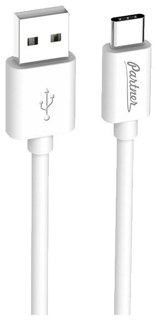 Кабель Partner USB - USB Type-C (ПР036531) 1 м