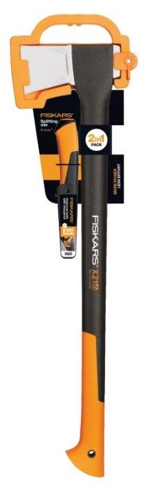Колун FISKARS Х21 + универсальный нож