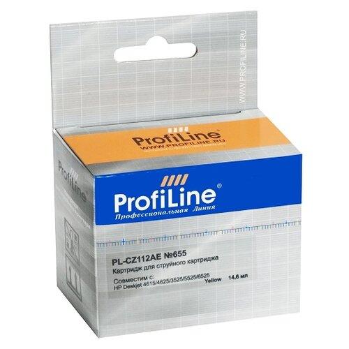 Фото - Картридж ProfiLine PL-CZ112AE-Y, совместимый картридж profiline pl 50f2h00