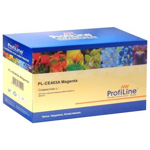 Картридж ProfiLine PL-CE403A-M, совместимый