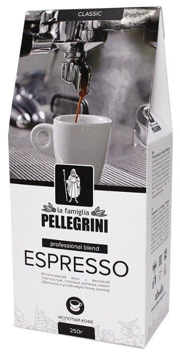 Кофе молотый la famiglia Pellegrini ESPRESSO professional blend