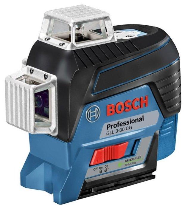 Лазерный уровень BOSCH GLL 3-80 CG Professional + L-BOXX 136 + BM 1 (0601063T00)