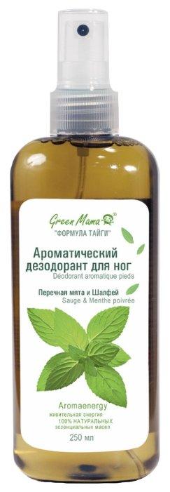 GREEN MAMA Ароматический дезодорант для ног Перечная