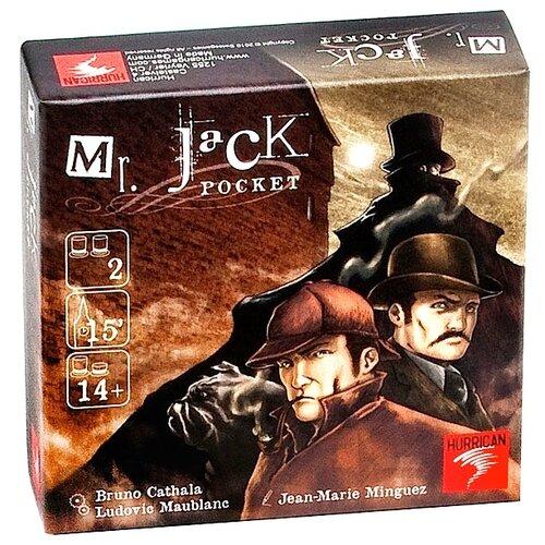 Настольная игра Hurrican Мистер Джек компактная версияНастольные игры<br>
